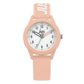 Hype Children's Pink Silicone Strap Watch