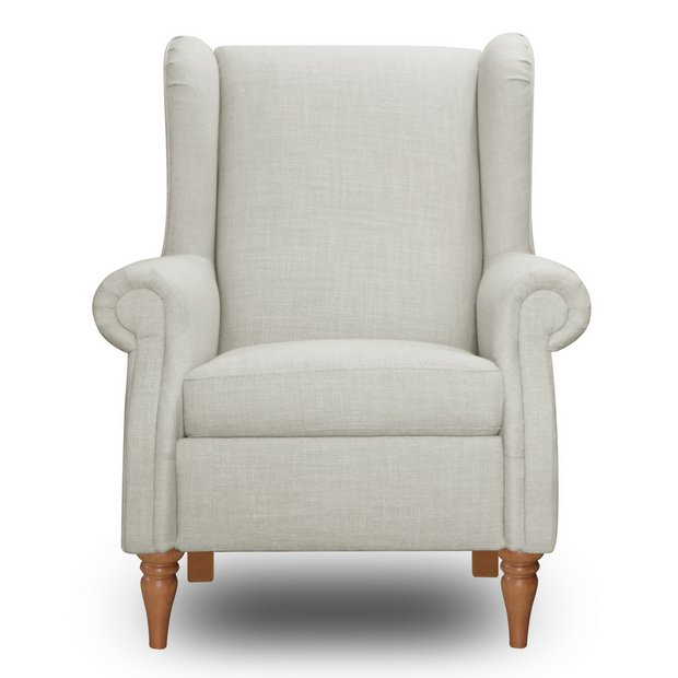 Buy Argos Home Argyll Fabric High Back Chair Cream Armchairs And Chairs Argos