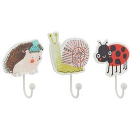 Argos Home Wildlife Wonders Pack of 3 Shaped Hooks