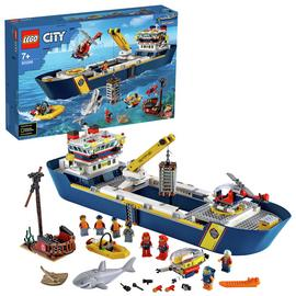 LEGO City Ocean Exploration Ship Floating Toy Boat - 60266