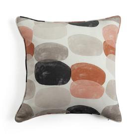 Argos Home Abstraction Pebble Print Cushion