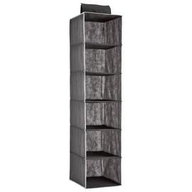 Argos Home 6 Shelf Hanging Storage - Grey and White