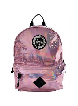 Hype Holographic 14L Backpack - Pink