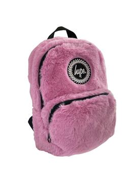 Hype Faux Fur Mini 5L Backpack - Pink