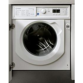 Indesit BIWMIL81284 8KG 1200 Spin Washing Machine - White