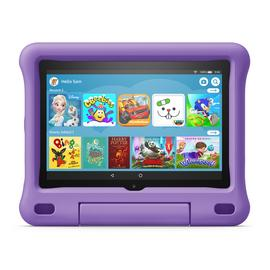 Amazon Fire HD 8 Inch Kids Edition Tablet & Case - Purple