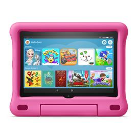 Amazon Fire HD 8 Inch 32GB Kids Edition Tablet & Case - Pink