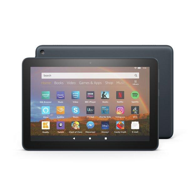 Buy Amazon Fire HD 8 Plus Slate 8 Inch 32GB Tablet | Tablets | Argos