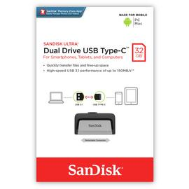 SanDisk Ultra Dual Drive USB 3.1 Type-C - 32GB