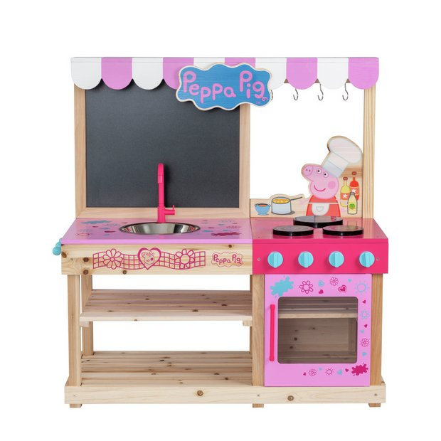 Buy Peppa Pig Mud Kitchen Role Play Toys Argos