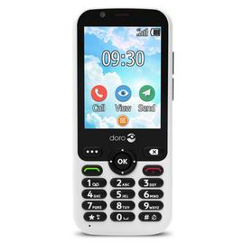 SIM Free Doro 7010 Mobile Phone - White