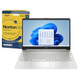 HP Slim 15.6in i7 8GB 512GB FHD Laptop & Norton Security