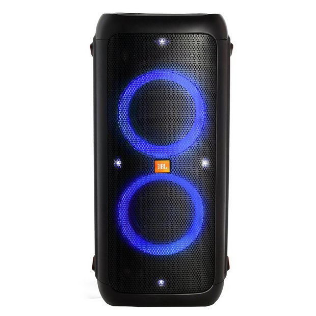 Buy JBL PartyBox 300 240W Portable Speaker with Lights Black | Wireless and Bluetooth speakers | Argos