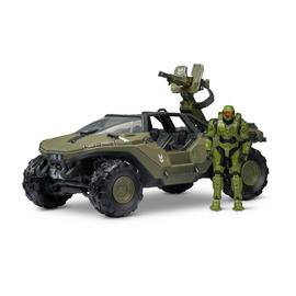 Halo Warthog Deluxe Vehicle and Master Chief Figure