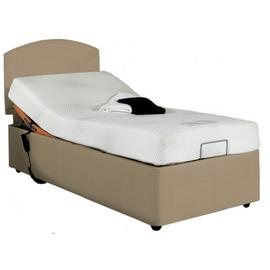 Adjustamac Phillips 3ft Single Bed with Foam Mattress