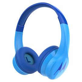 Motorola Sqauds 300 On-Ear Wireless Kids Headphones - Blue