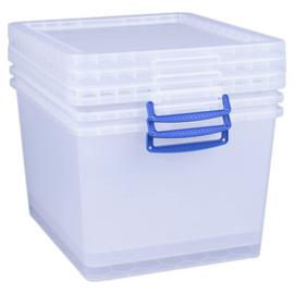 Really Useful 33.5 Litre Plastic Nesting Boxes - Set of 3