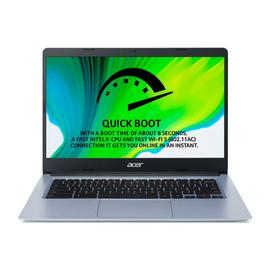 Acer CB314 14in Celeron 4GB 64GB FHD Chromebook -Pure Silver