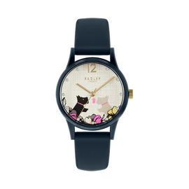 Radley Ladies Navy Silicone Strap Watch