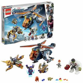 LEGO Marvel Avengers Hulk Helicopter Rescue Set - 76144