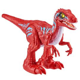 Robo Alive Rampaging Raptor Dinosaur Toy - Red