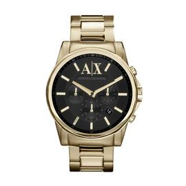Armani Exchange Men's Gold Stainless Steel Bracelet Watch