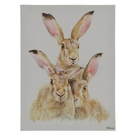 The Art Group Jane Bannon Hare Canvas Wall Art