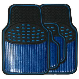 Streetwize Heavy Duty Car Mat Set - Blue.