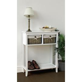 Argos Home New Malvern Console Table - White