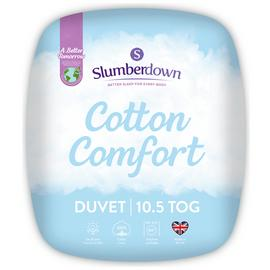 Slumberdown Cotton Comfort 10.5 Tog Duvet