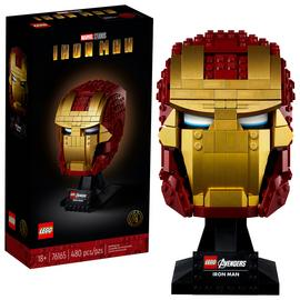 LEGO Marvel Avengers Iron Man Helmet Set for Adults 76165