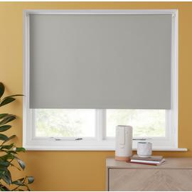 Argos Home Blackout Insulating Roller Blind - Cloud Grey