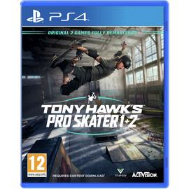 Tony Hawk's Pro Skater 1 & 2 PS4 Game