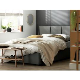 Argos Home Austen Ottoman Double Bed Frame - Grey