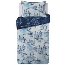 Collection Watercolour Boats Bedding Set - Single