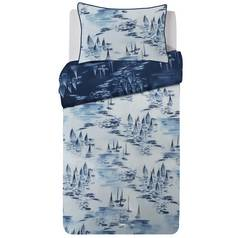 Argos Home Watercolour Ships Bedding Set - Single
