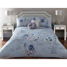 Appletree Kumiko Teal Bedding Set - Kingsize