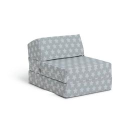 Argos Home Silver Stars Chair Bed