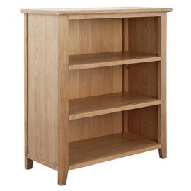 Argos Home Islington 2 Shelf Oak Veneer Bookcase