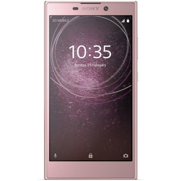 Buy Sony Xperia L2 32GB Mobile Phone - Pink   SIM free phones   Argos 0709e9b07f64