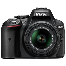 Nikon D5300 DSLR Camera with AF-S DX 18-55mm VR Lens