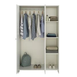 Argos Home Seville 2 Door Open Shelf Wardrobe