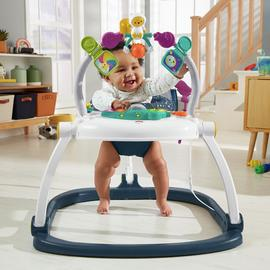 Fisher-Price Astro Kitty SpaceSaver Jumperoo Activity Center