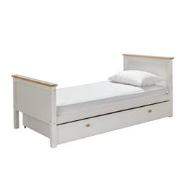 Argos Home Single Bed and Drawer - White and Oak