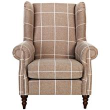 Heart of House Argyll Fabric Chair - Mink