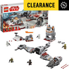 LEGO Star Wars Defense of Crait Building Set - 75202