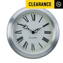 Collection Wall Clock - Matt Silver