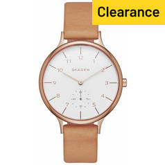 Skagen Ladies' SKW2405 Anita Leather Strap Watch
