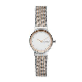 Skagen Ladies SKW2699 Freja Two Tone Rose Coloured Watch