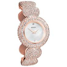 204415b14f1c Seksy Ladies  Eclipse 4668 Crystal Bracelet Watch Best Price Updated ...